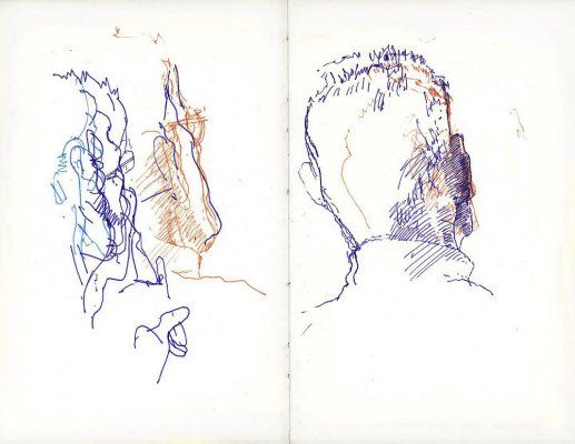 Tom Phillips : The Samuel Beckett Sketchbook
