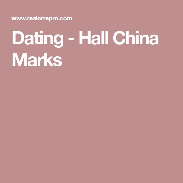 Dating hall china