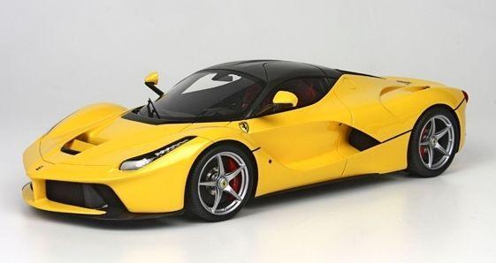 Nice Amazing Hot Wheels Elite Ferrari LaFerrari 2013 Yellow BCT81 1/18  Limited Edition 2017