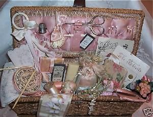sewing basket by karyn