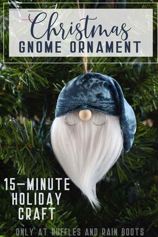 Christmas Gnome DIY christmasgnomes These adorable