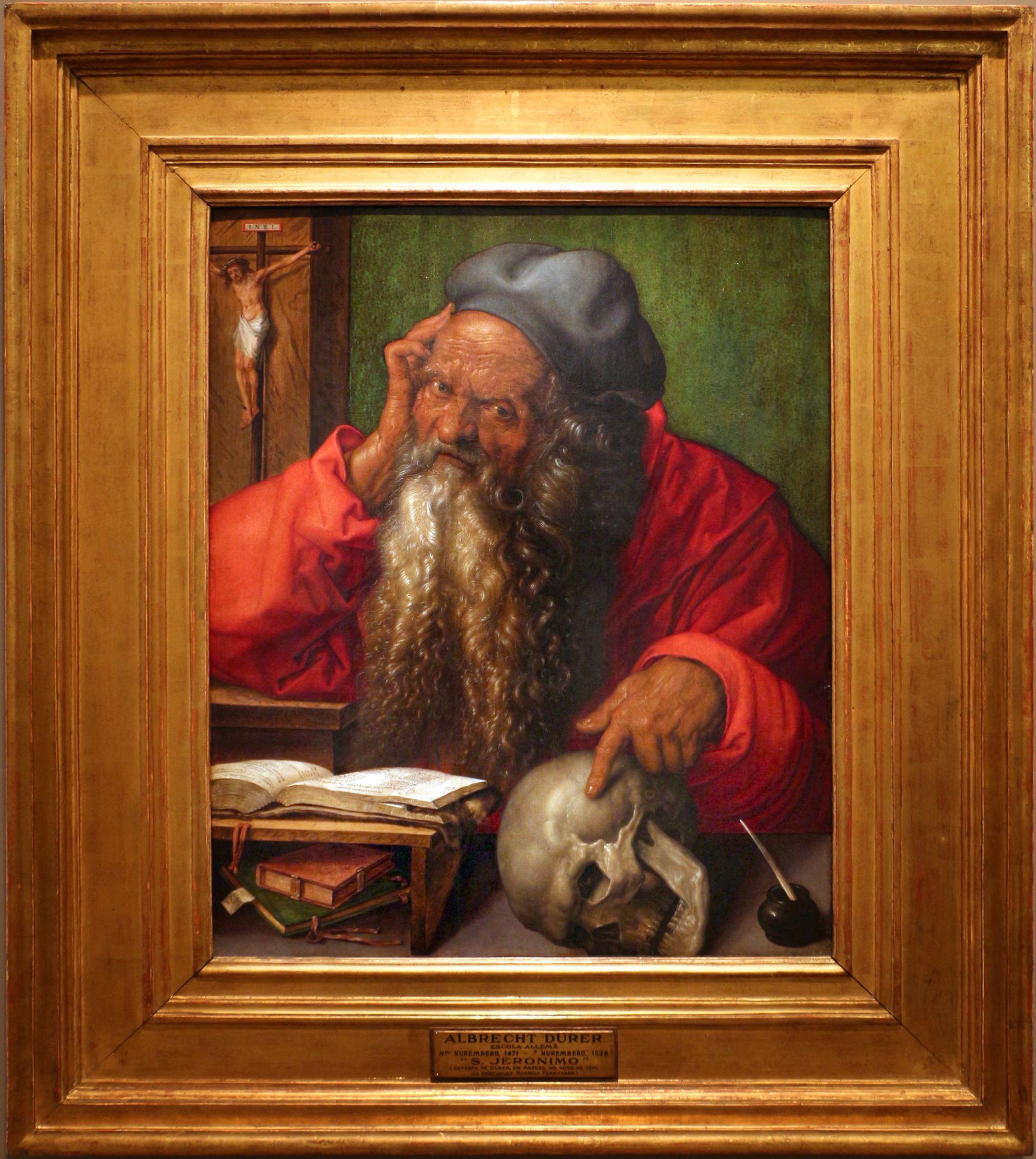 File:Albrecht dürer, san girolamo nello studio, 1521, 01.jpg
