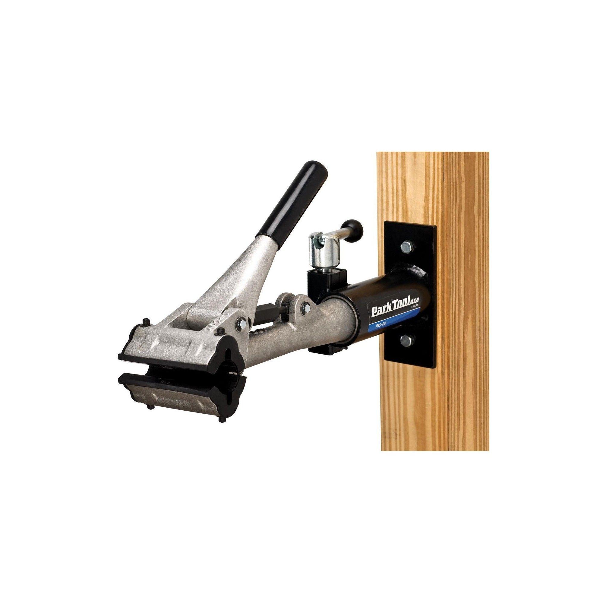 Park Tool PRS-4W-1-Deluxe Wall Mount Repair Stand-Bike Repair Clamp-New