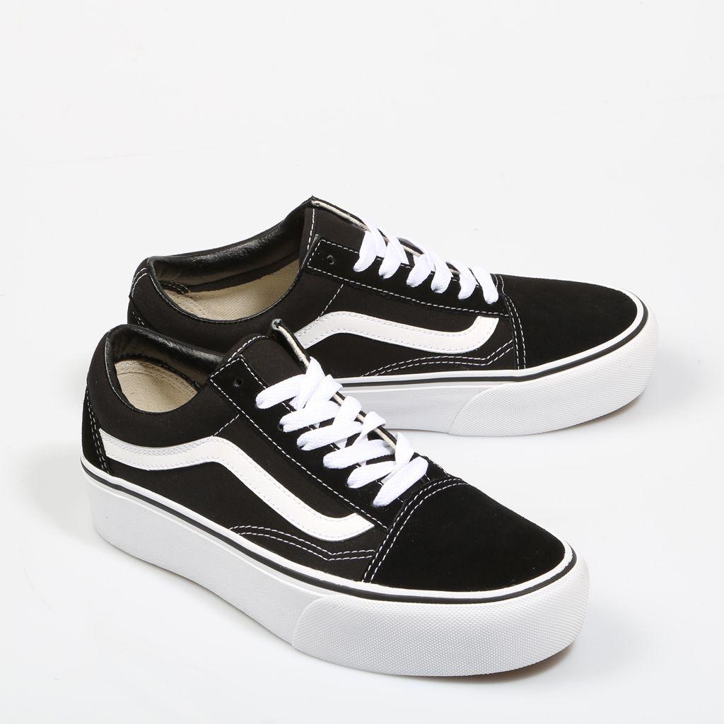 zapatillas vans old skool negras