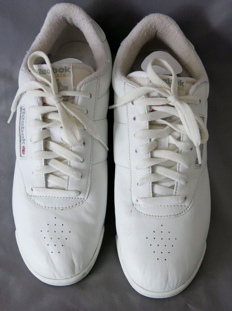 a56aced52cf Reebok Classic Women s White Princess Walking Shoe US 11 UK 8 1 2 EUR 42.5   Reebok  Walking