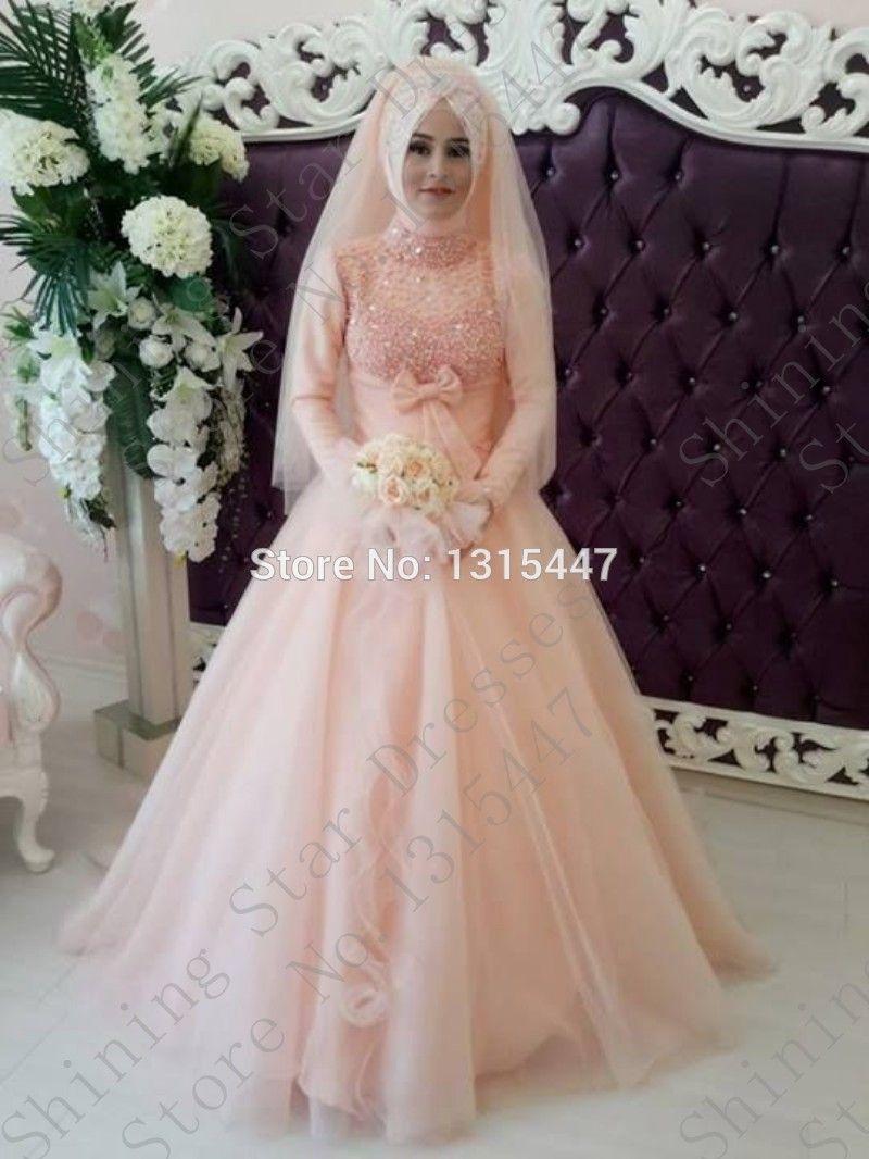muslim wedding dresses with hijab - Google Search | Islamic Attire ...