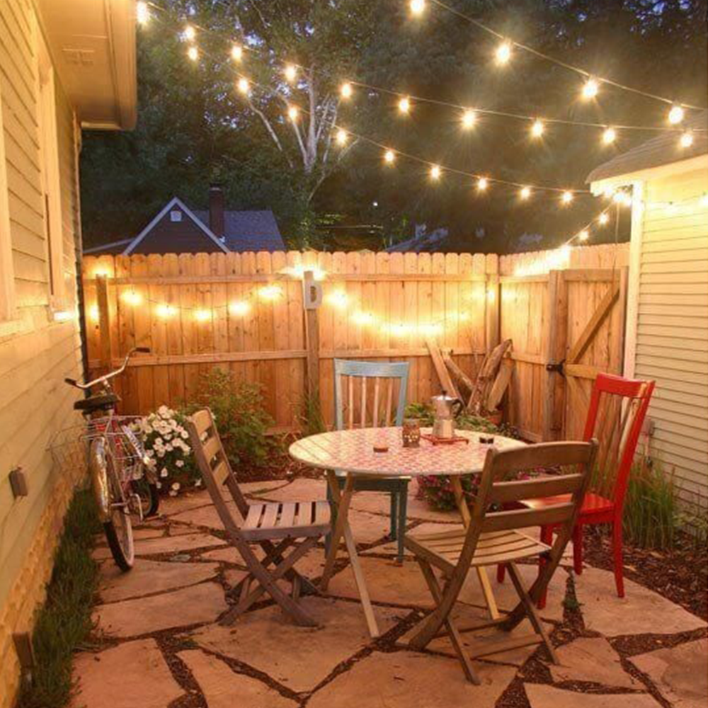 25 Gorgeous Front Yard Garden Landscaping Ideas: 20 Ft 30 LED Crystal Ball Globe Lights For Outdoor