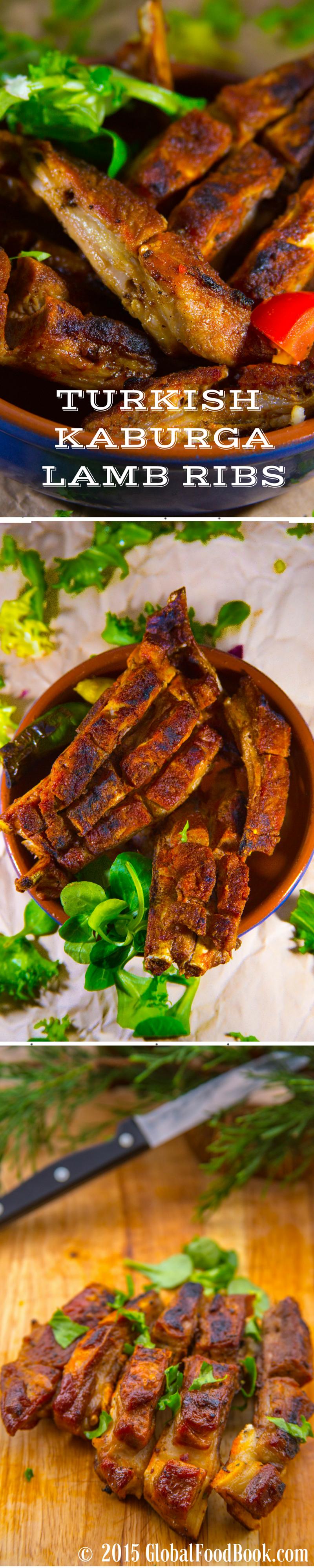 Turkish Kaburga Lamb Ribs Recipe Lamb Ribs Lamb Recipes Food
