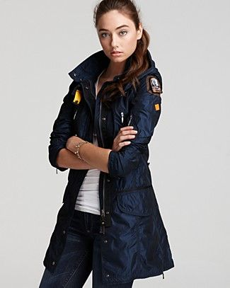 Parajumpers Mary Todd Long Windbreaker