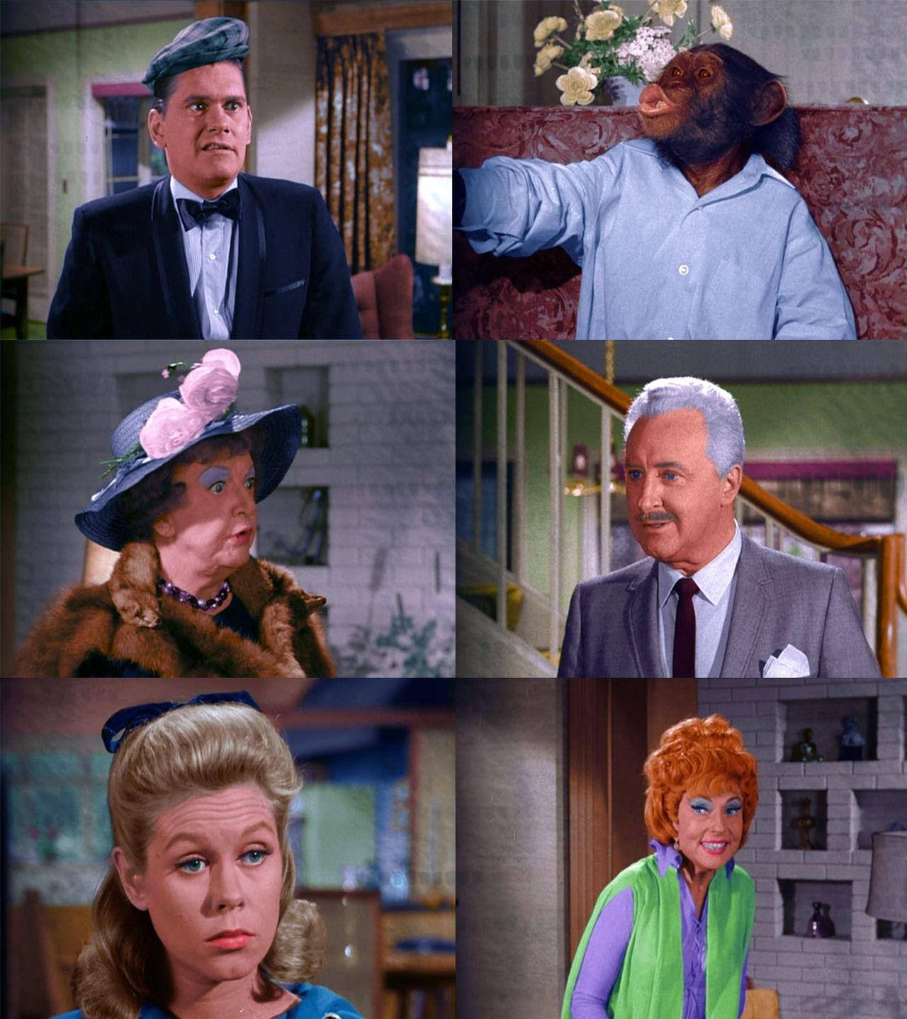 the cast of bewitched � episode 21 bewitched