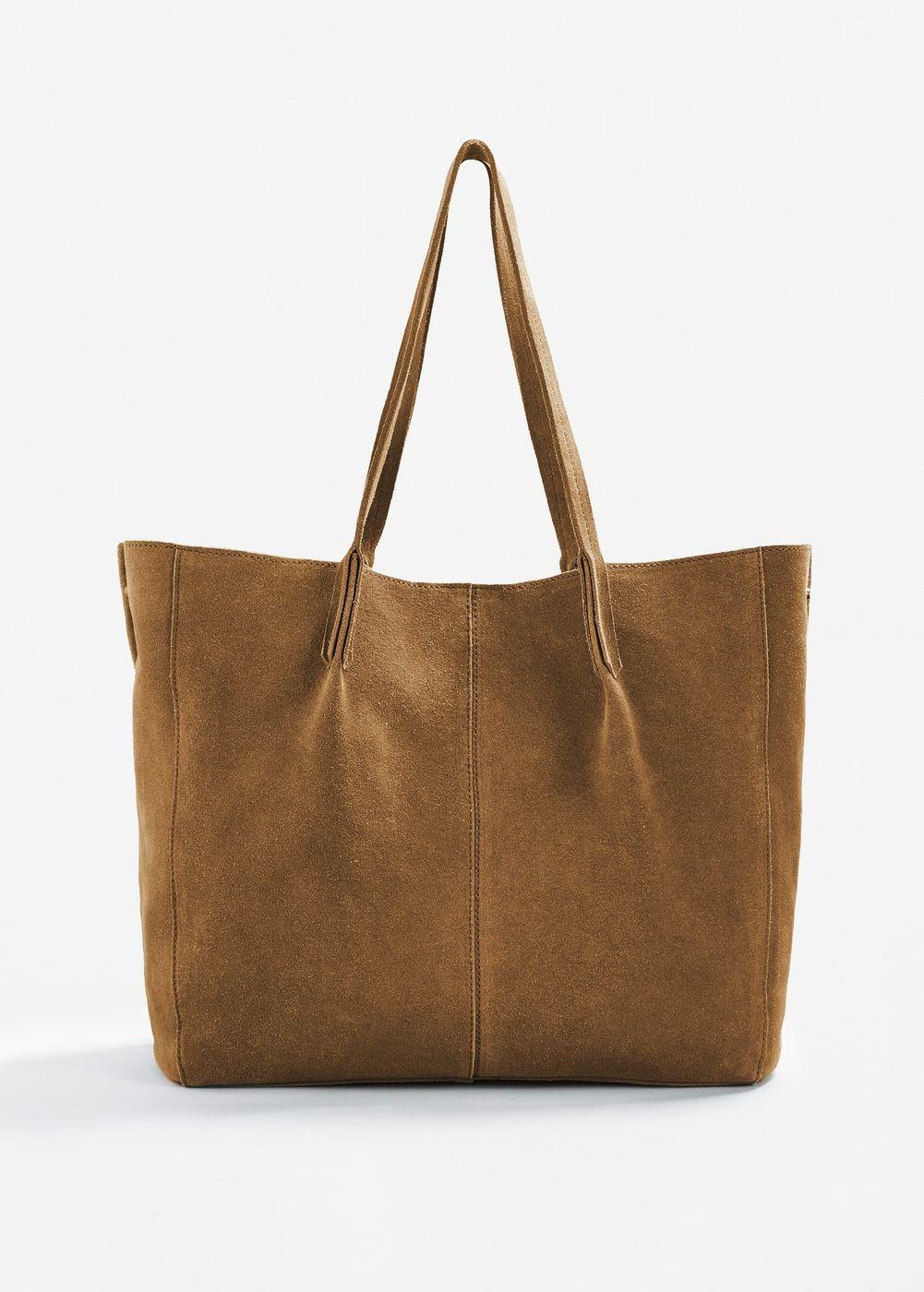 7073f7705 Bolso shopper piel - Mujer   Wishlist   Shopper bag, Metallic tote ...