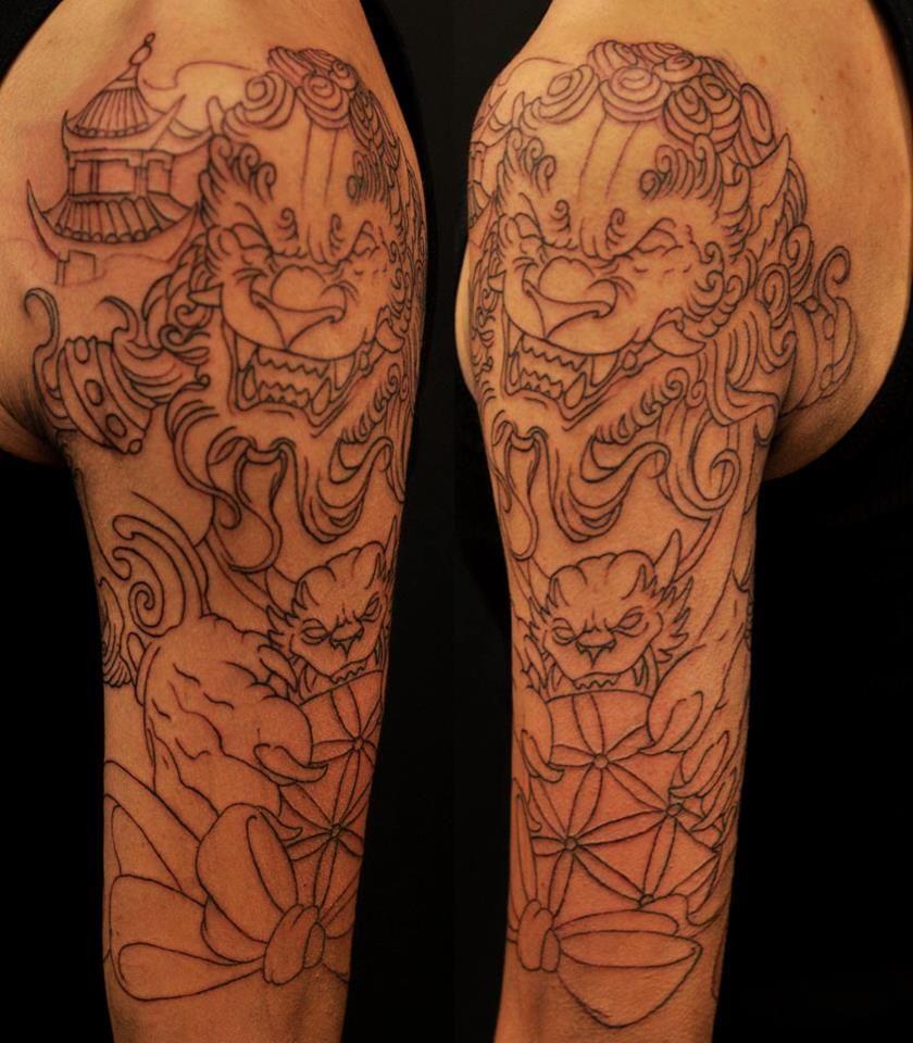 Chronic Ink Tattoos Toronto Tattoo Shop: Chronic Ink Tattoos, Toronto Tattoo - Fu Dog By BkS.