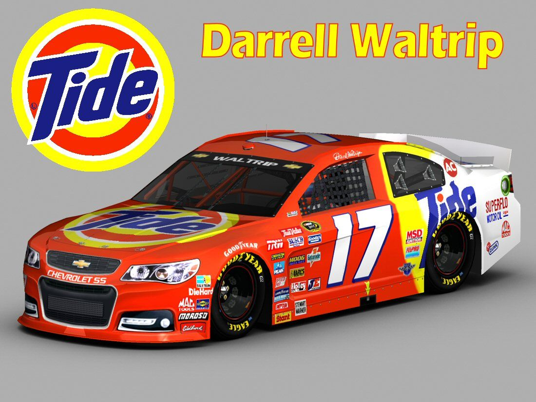 Paint schemes coca cola 600 free download image about all car type - Darrell Waltrip Tide Click Here To Download