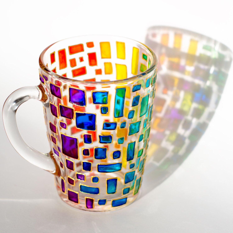 Personalised Rainbow Plastic Mug Children/'s Birthday Gift Juice Cup Any Name