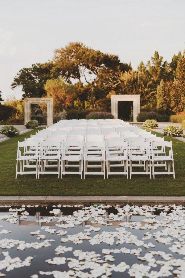 Art Deco Wedding at the Dallas Arboretum