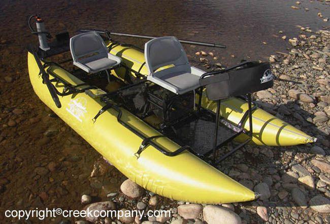 2 Person River Pontoon Fishing Boat Google Search Kayak Fishing Kayaking Pontoon Boat