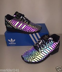 buy popular bb4a0 adb34 Womens ADIDAS ZX FLUX W XENO Black / Black AQ7420