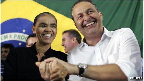Brazil's Marina Silva and Socialists eye 2014 elections - BBC News - http://www.obamanewsreport.com/brazils-marina-silva-and-socialists-eye-2014-elections-bbc-news/