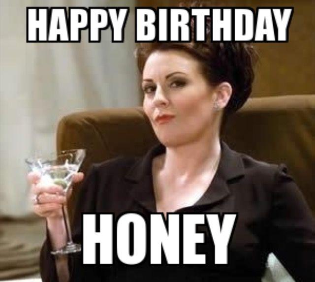 Happy Birthday Honey By Karen Walker Happy Birthday Honey Birthday Humor Happy Birthday Funny