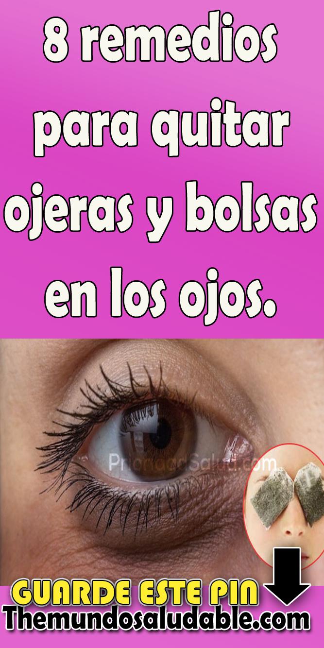 8 remedios para quitar ojeras y bolsas en los ojos | Quita