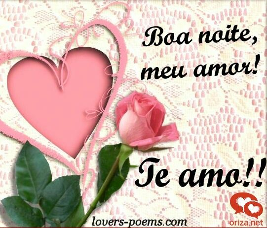 Pin De Marcelo Aguiar Em Amor Eterno Boa Noite Amor