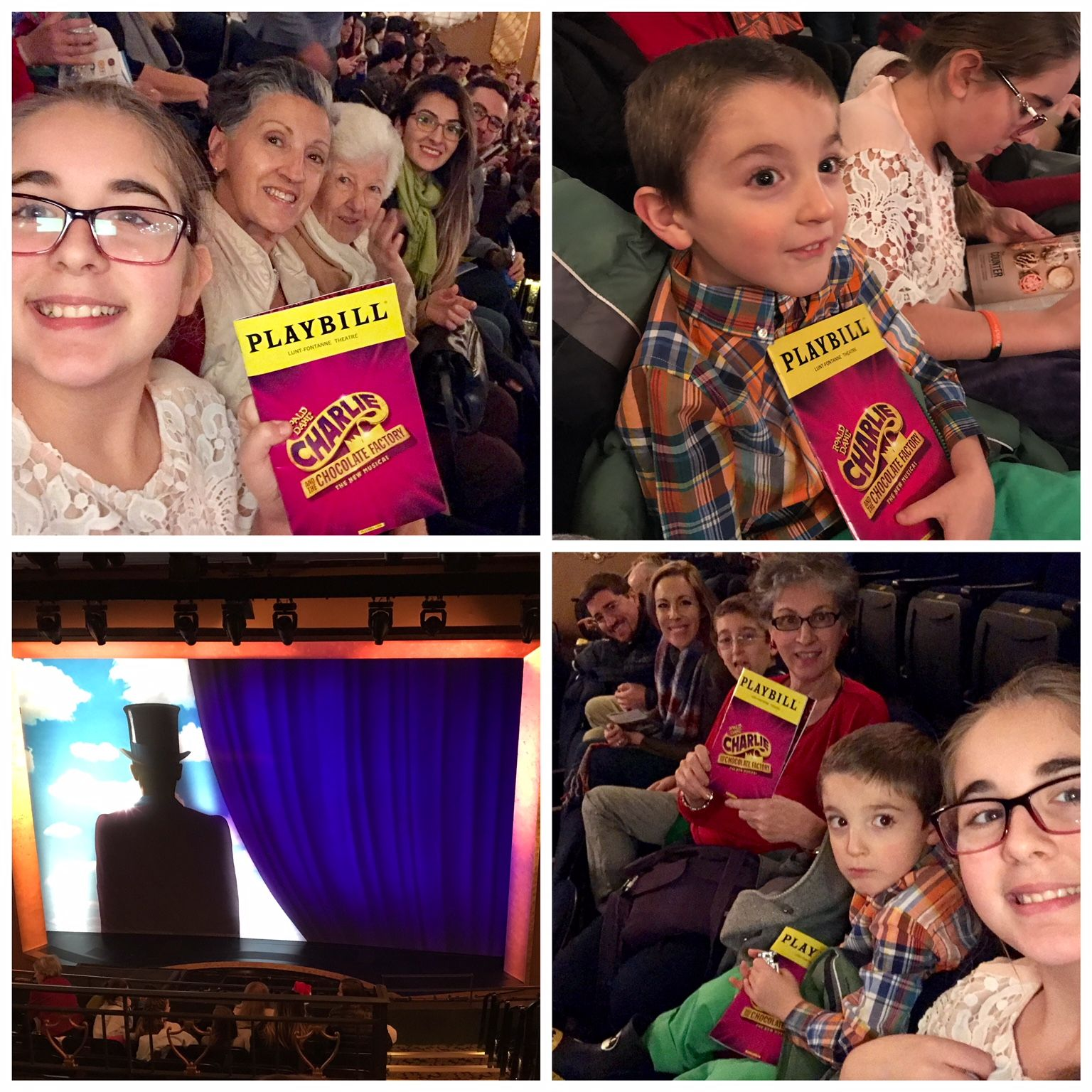 Charlie and The Chocolate Factory Christmas On Broadway