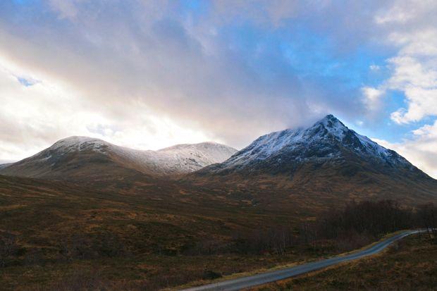 Glen Etive, en Écosse
