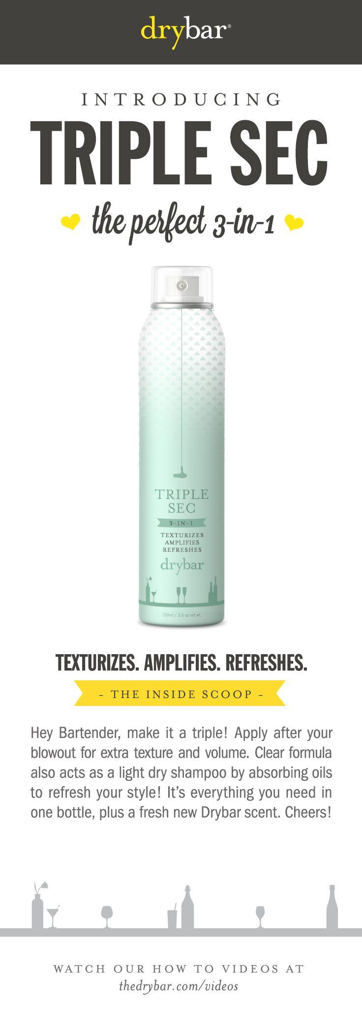 Hair Drybar TripleSec Beauty Sephora Make up Pinterest