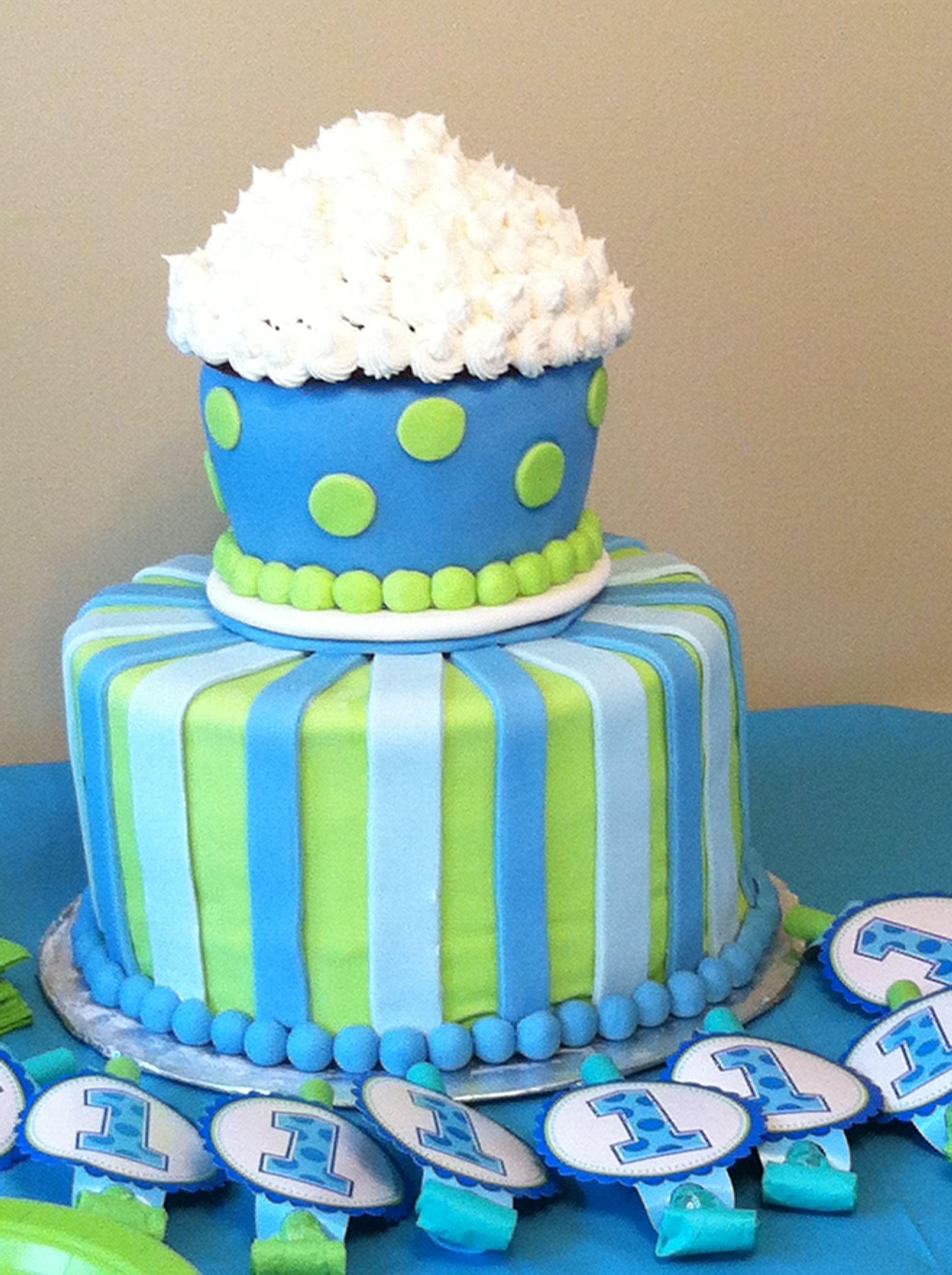 Baby Boy 1st Birthday Cake Baby boys first birthday Whos In