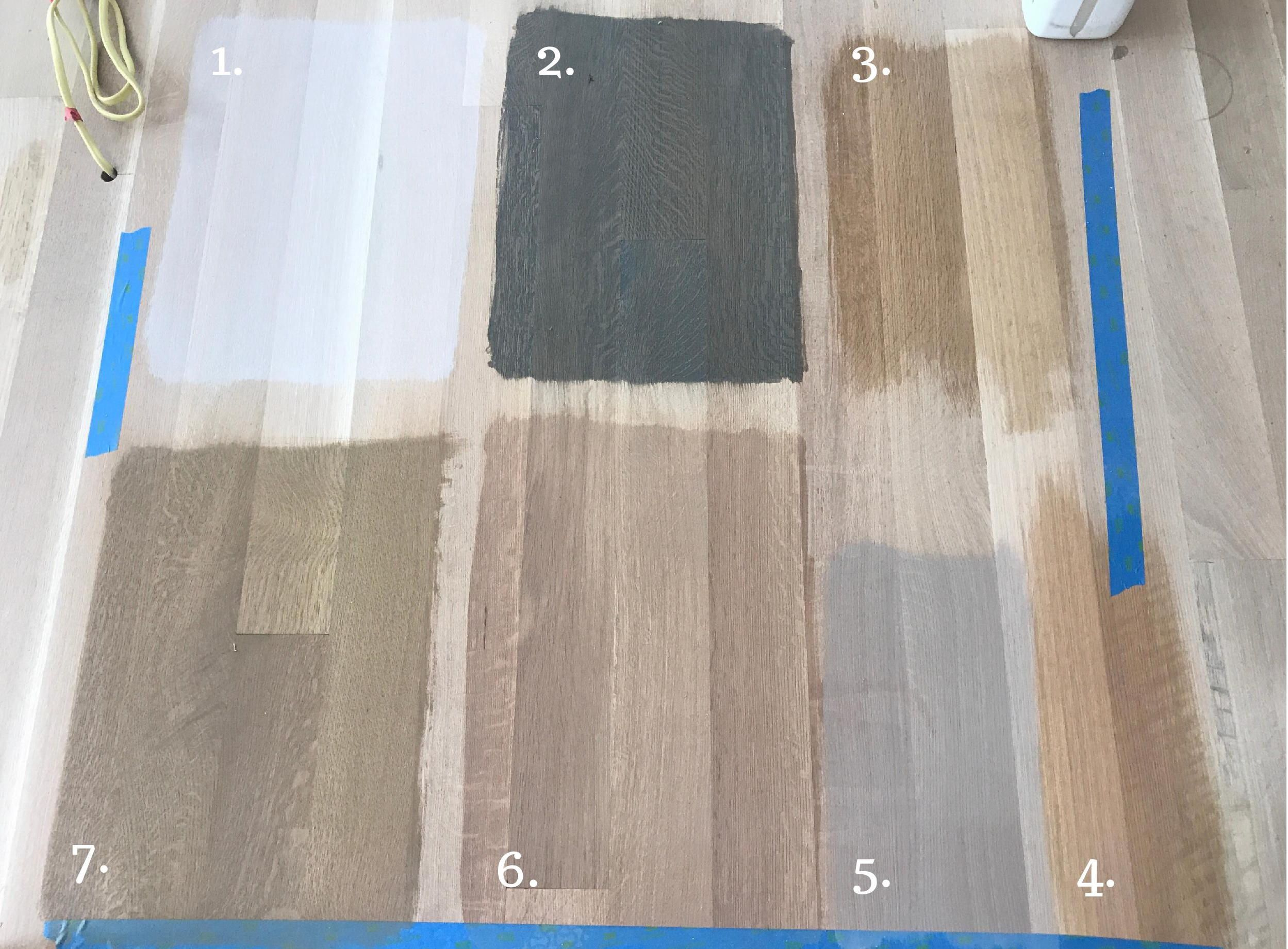 Time To Choose A Stain Color For White Oak Flooring Floor Stain Colors Wood Floor Stain Colors White Oak Hardwood Floors