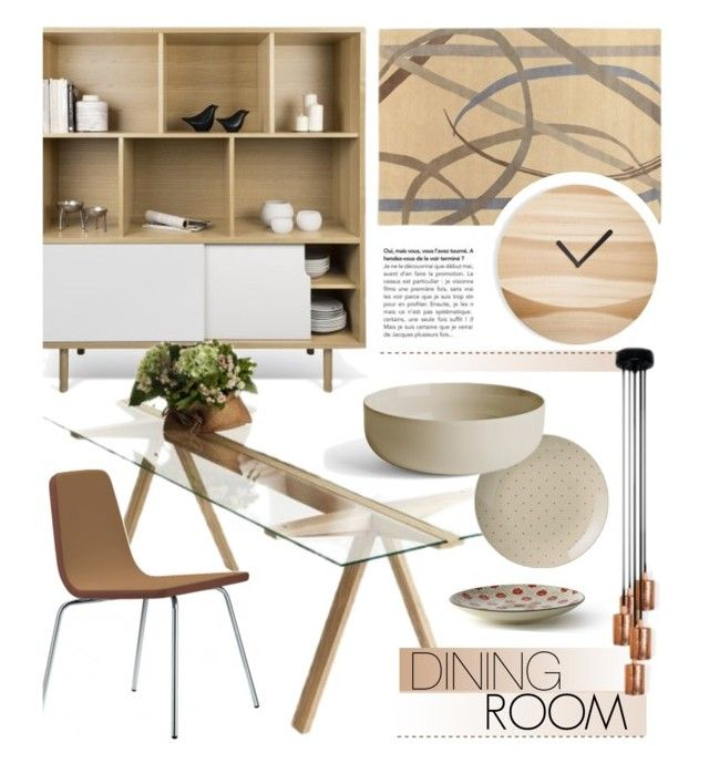 """""""Dining Room"""" by lovethesign-eu ❤ liked on Polyvore featuring interior, interiors, interior design, home, home decor, interior decorating, DANN, Metalmobil, Menu and dining room"""