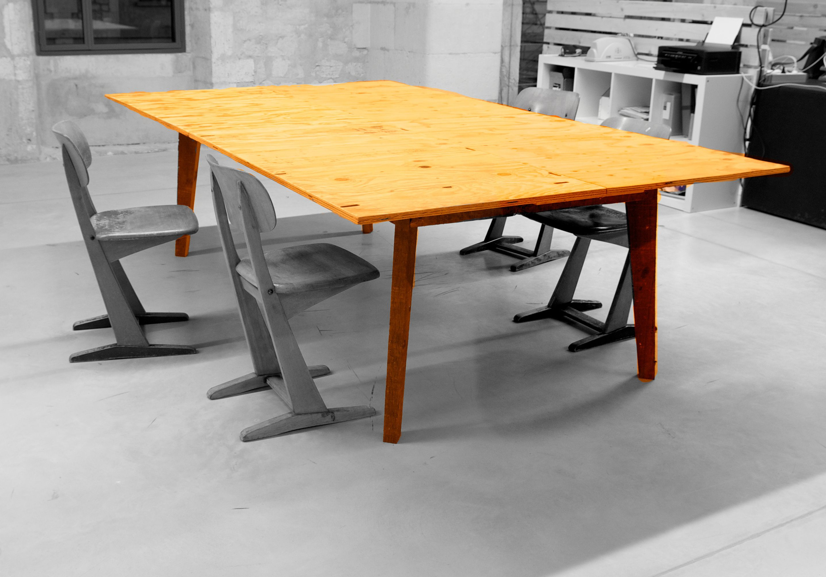 Darwin Reclaimed wood furniture le bureau baroque bureau
