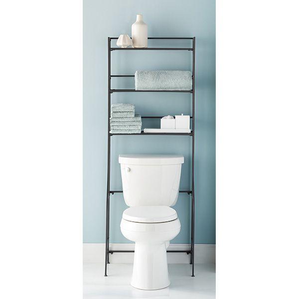 Iron Folding Bath Etagere Bathroom Etagere Bathroom Shelf Decor Toilet Storage