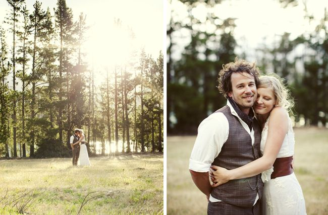 Fab folky wedding on Rock N Roll Bride blog. Love the style of it.