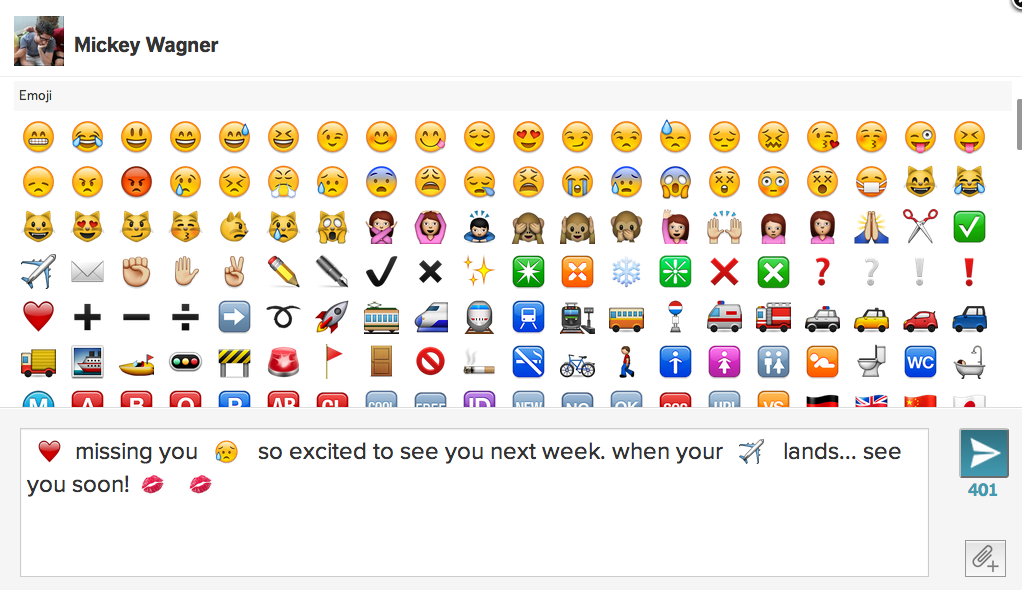 Hello Emojis Mightytext Blog Mightytext Blog Emoji Smiley Face Icons Excited To See You