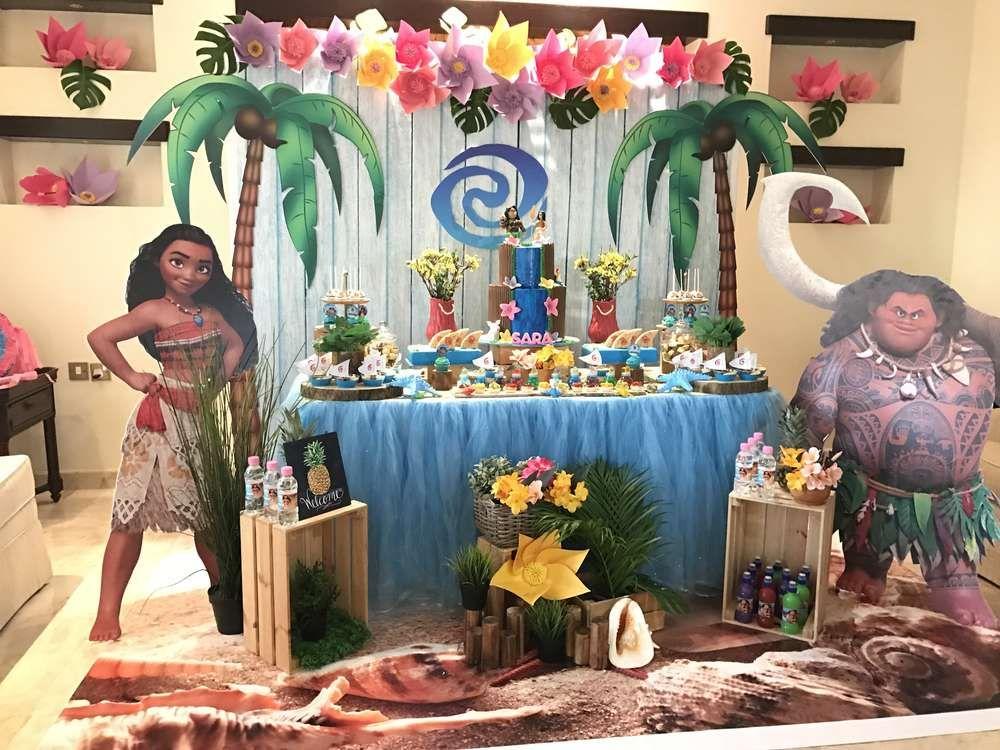 Moana birthday party ideas imagen para cumplea os - Ideas fiestas tematicas ...