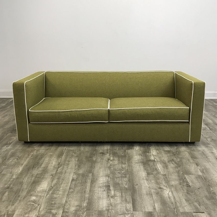 Club Sofa In Moss By Cb2 Chicago Il Https Www