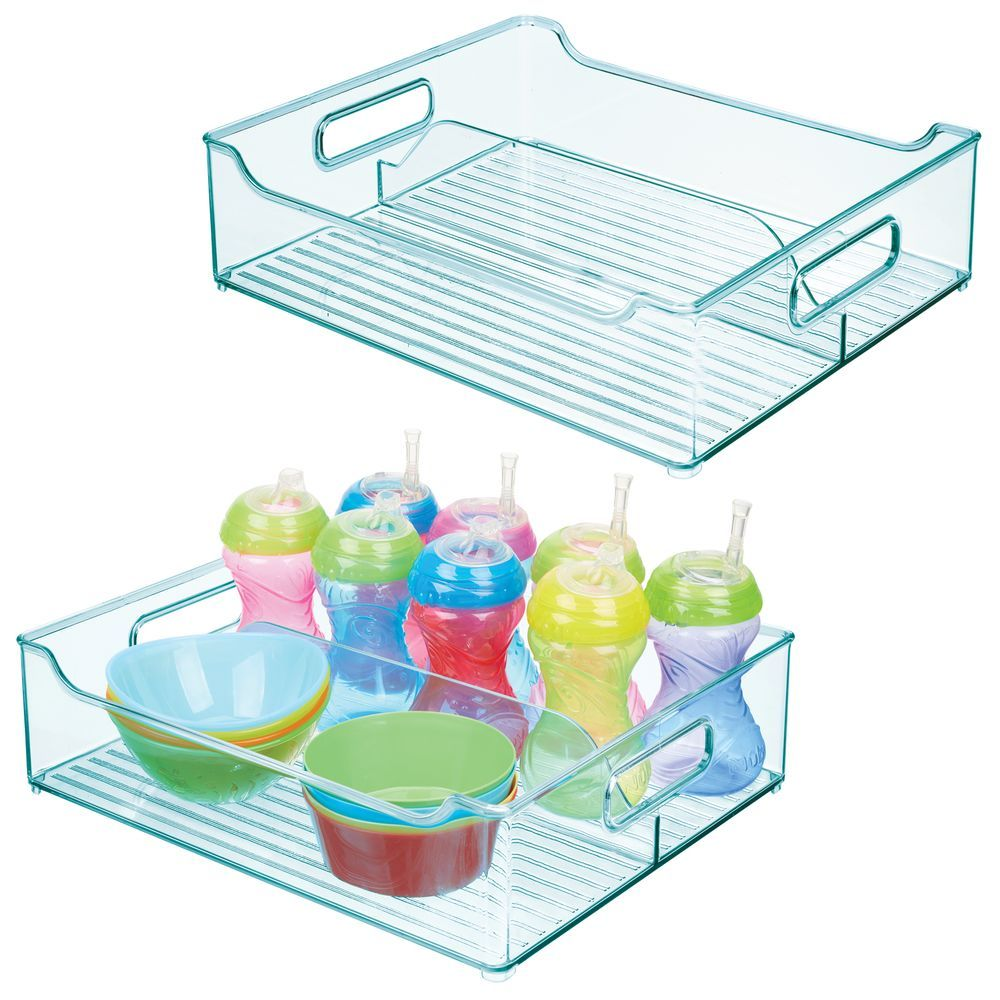Divided Plastic Baby Kids Storage Organizer Bin 14 5 X 12 X 4 Kids Storage Plastic Container Storage Playroom Closet