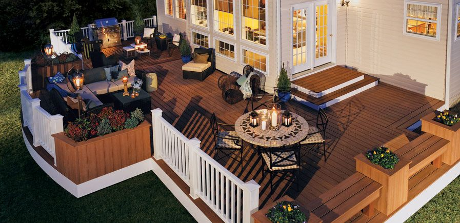 Compare Decking Designs and Materials with our Decking Project