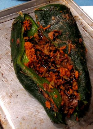 Stuffed Chile Pepper