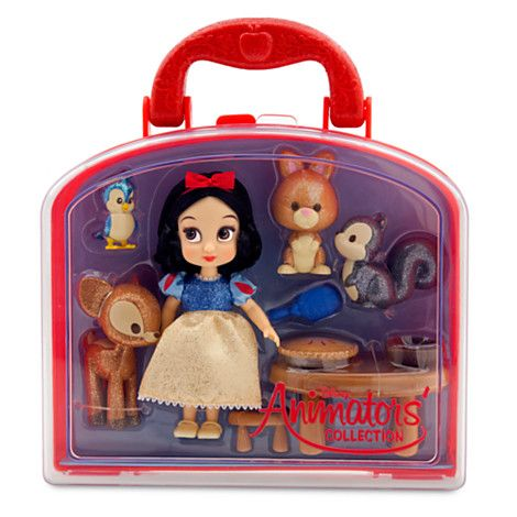 NEW Disney Parks Animators Collection Belle Mini Doll Play Set 5 Inch
