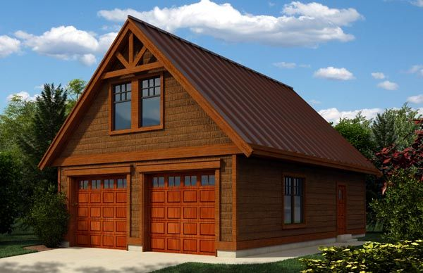 Craftsman Style 2 Car Garage Apartment Plan Number 76019 Garage Workshop Plans Craftsman Style House Plans Garage Plans With Loft