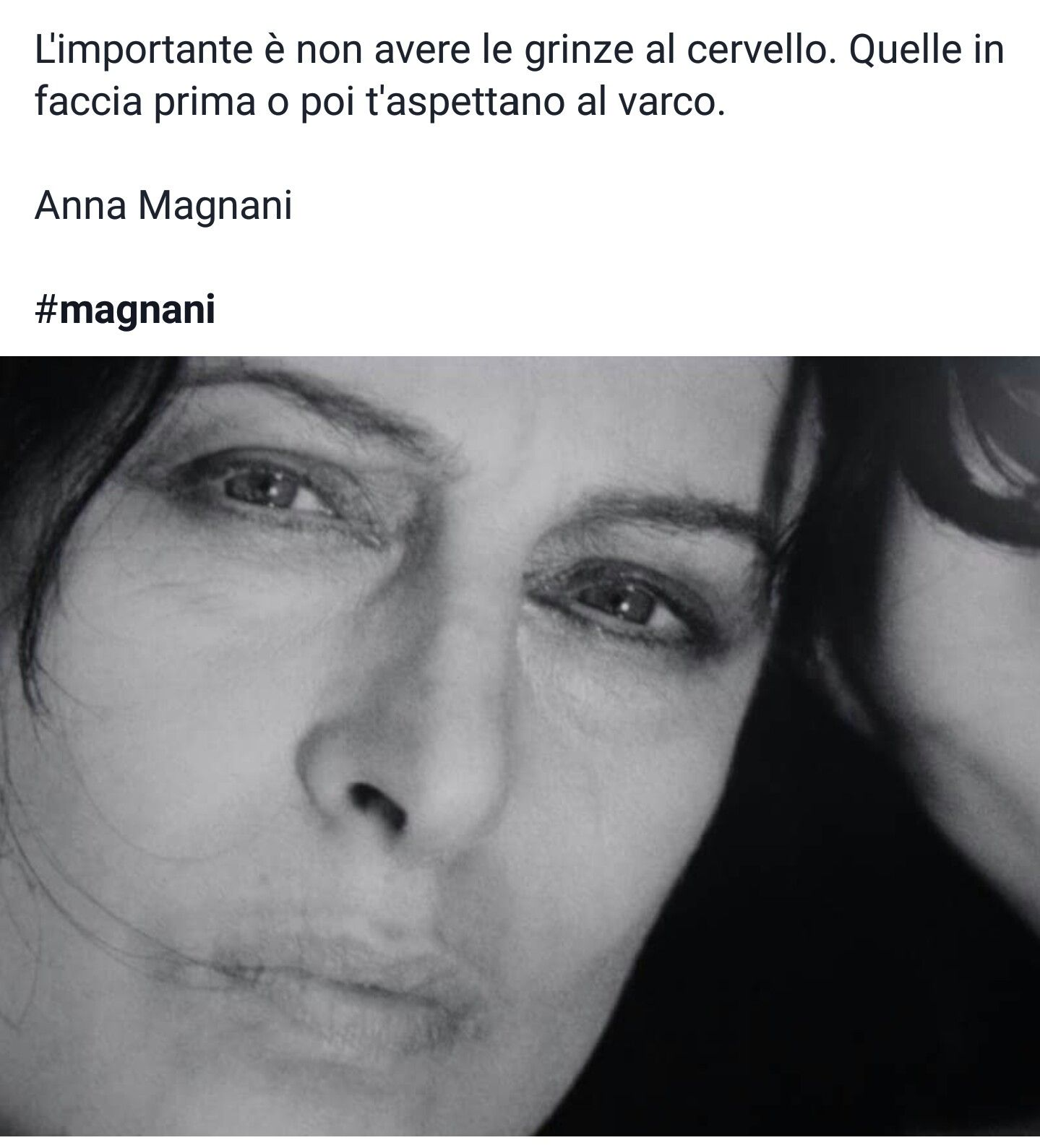 Bien connu Anna Magnani | frasi celebri | Pinterest | Anna and Thoughts VD34