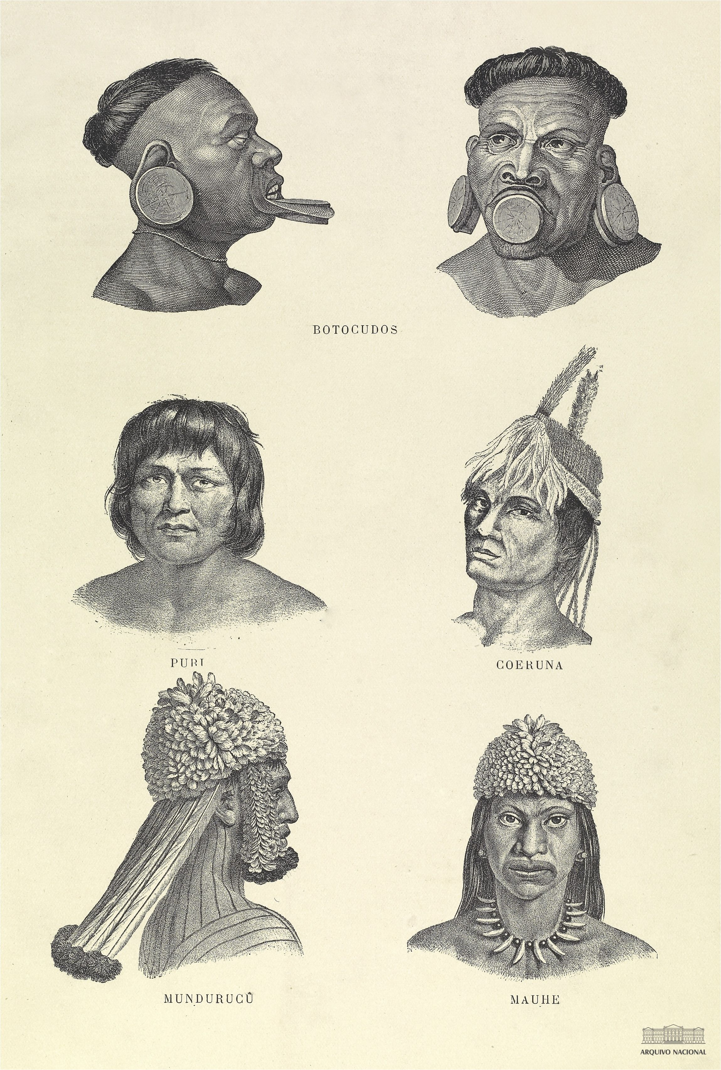 Indigenas Seculo Xix Le Bresil De Pierre Emile Levasseur 1899