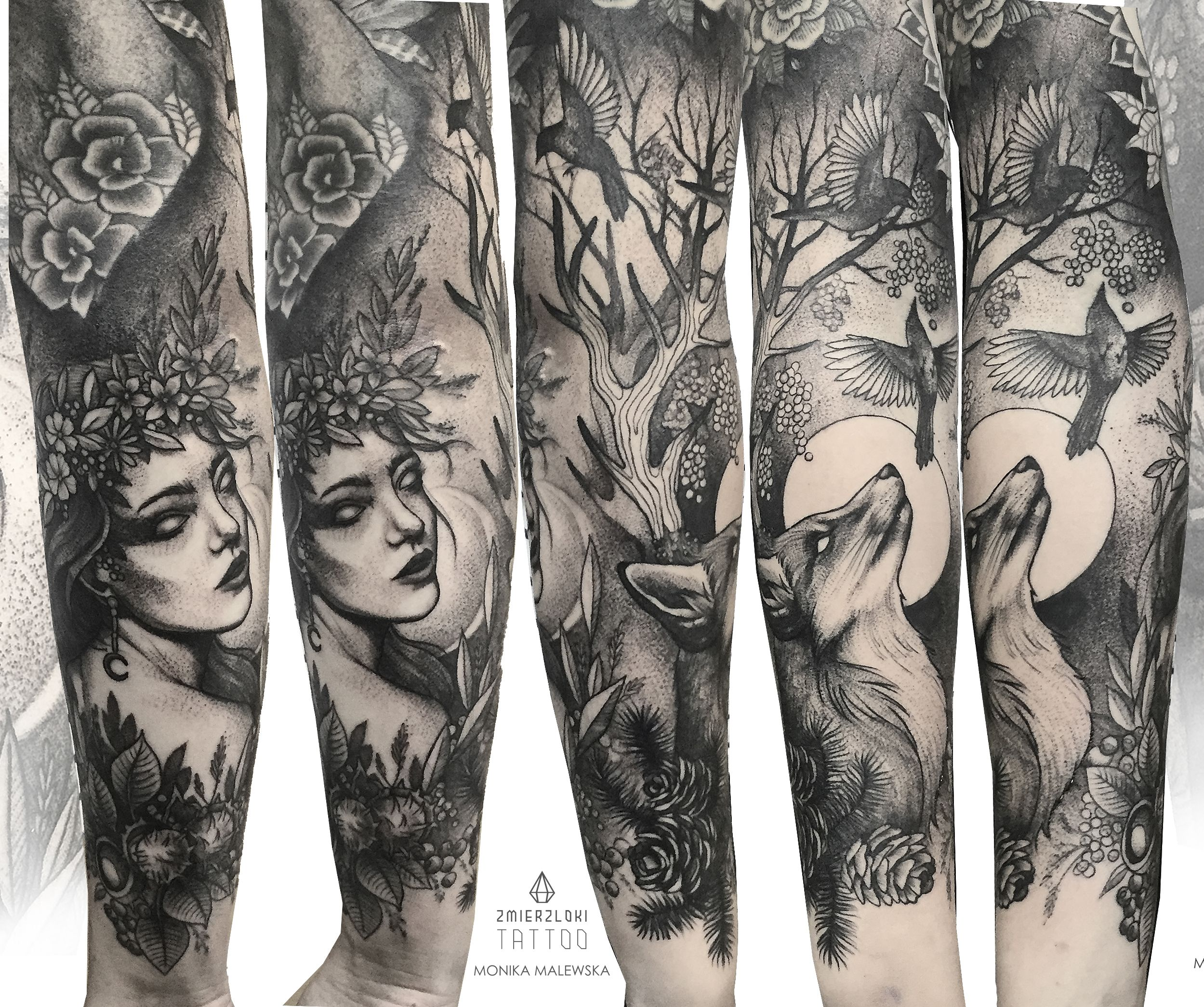 Mother Nature Tattoos: Nature Tattoo Sleeve, Half Sleeve