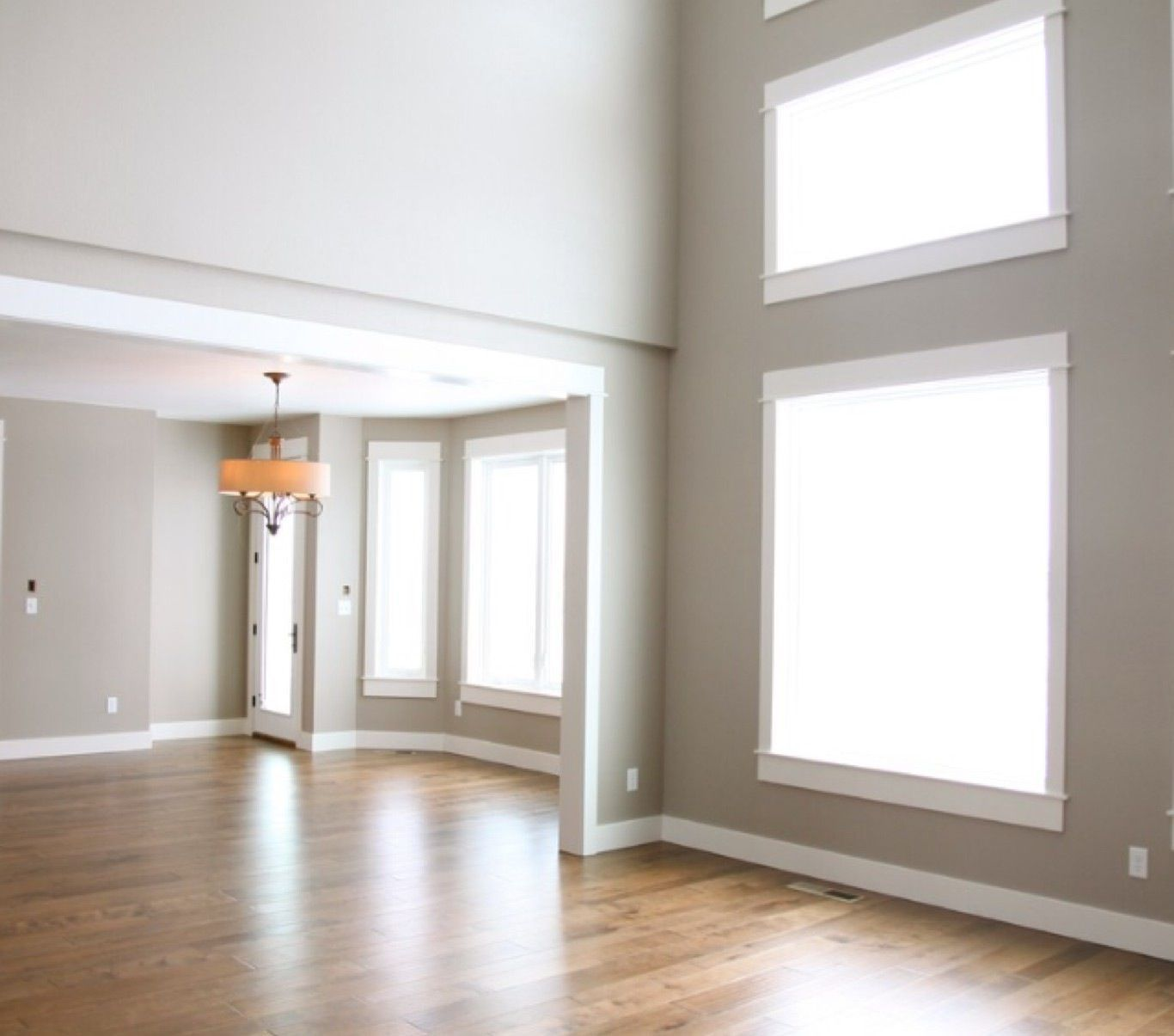 Sherwin Williams Perfect Greige Living Room Paint Greige Walls Greige Living Room