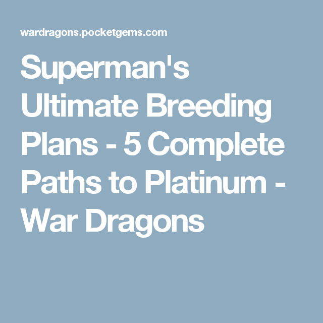 superman s ultimate breeding