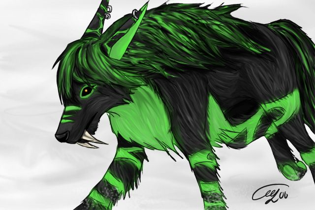 Resultado de imagem para demon wolf deviantart