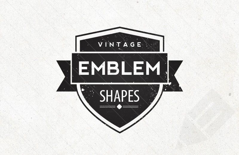 free vector emblem badge shapes typography pinterest shape vintage and badges