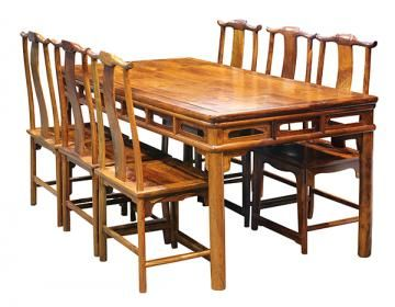 Chinese Huanghuali Dining Suite Price Estimate 70000 100000